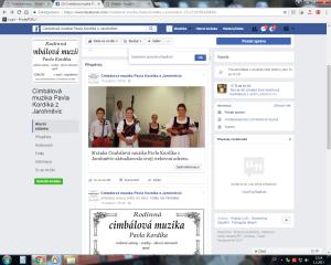 cimbála facebook